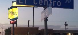 El Centro, unsere Destination für die nächsten Tage