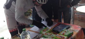 Glück im Unglück am Race across Italy 2016